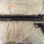 Quackenbush .58 Pistol came without trigger group. I added a Crosman 1322 trigger group.
