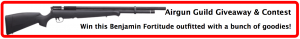airgun guild benjamin fortitude airgun giveaway contest